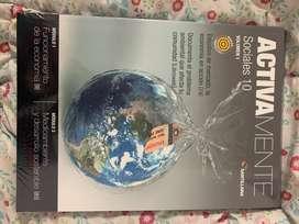 Libro Activamente Santillana Sociales 10 Volumen 1