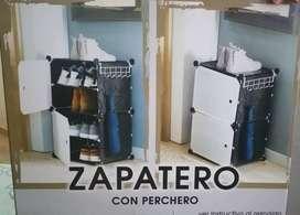 Zapatero con Perchero