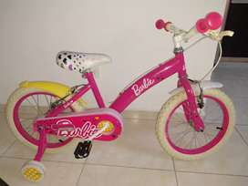 Bicicleta NIÑA + monopatín