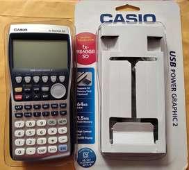 Calculadora gráfica Casio fx-9860 GII SD