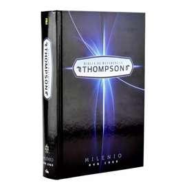 Bíblia Thompson azul tapa dura edición de estudio