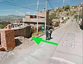 VENDO TERRENO 277m2 en Huamanga