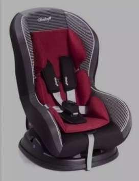 Car seat, asiento silla de auto para bebé, reclinable, seguro