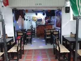 Se vende bar recién remodelado