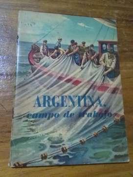 Argentina Campo de Trabajo Peronismo 1949 Kapelusz librito