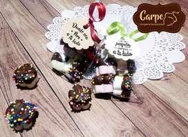 Paquete de Masmelos con o sin Chocolate