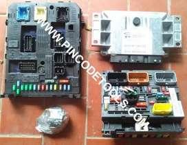 Set Completo de Inyeccion de Peugeot 307 308 y Citroen C4 408   IAW 6KPB  ECU  BSI  BSM  Llave