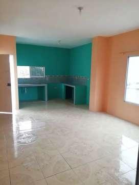 Departamento a estrenar cuenta con dos habitaciones, garaje para vehiculo, lavandero y con camara de seguridad