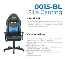 SILLA GAMER ERGONOMICA XFIRE AZUL NRO: 0015-BL