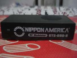 Modulator Rf Nippon America Gts0908 Con Transfo A 220w Exc