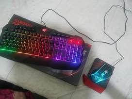 Mouse Y Teclado Gamer Marca Havit