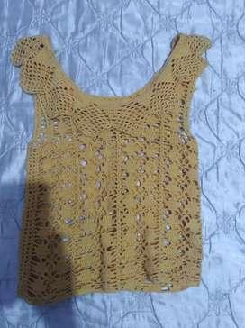 Remera crochet