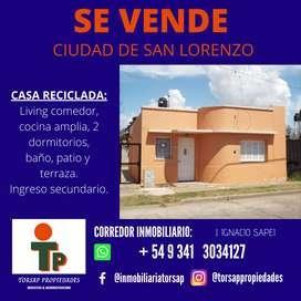 VENDO casa 2 dormitorio, San Lorenzo