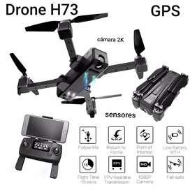 Drone H73 Gps Camara Angular 2k Estuche Sensor Estable barómetro 2020