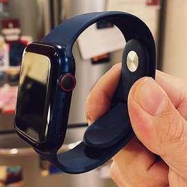 Apple watch series 6 gps + celular version LTE de 40mm azul 4 meses de uso