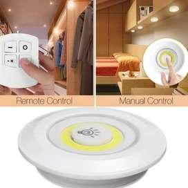 Luces LED Inalámbricas más Control Remoto