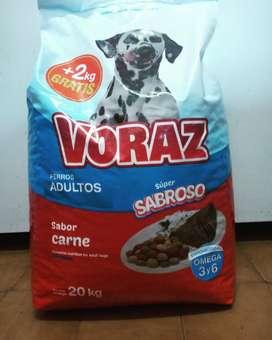 Alimento Voraz Perros