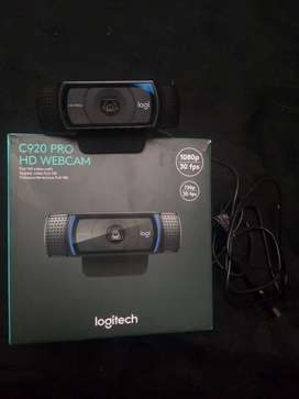 Webcam logitech pro c920