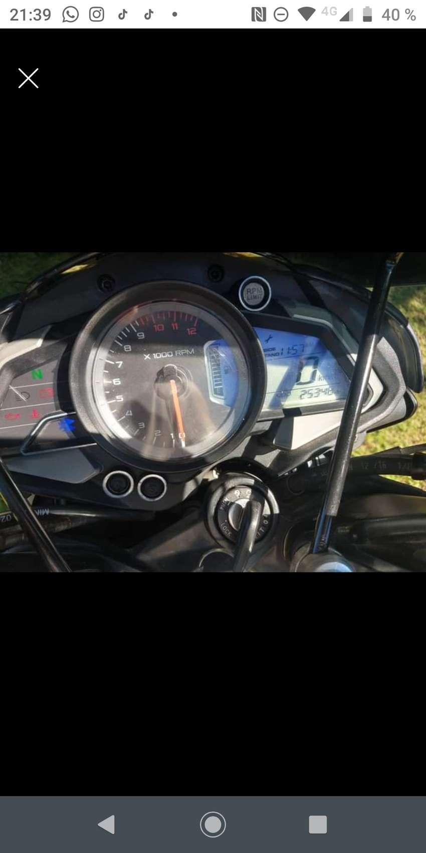 Bajaj rowser 200 ns 2017