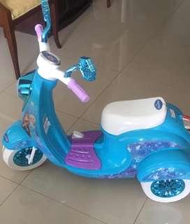 Moto electrica para niña!!!