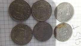 vendo monedas de un sucre 1970/75/77 -1981/85/86