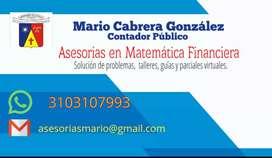 Tutorías en Matemática Financiera