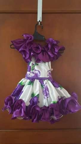 Vestido Joropo- niña