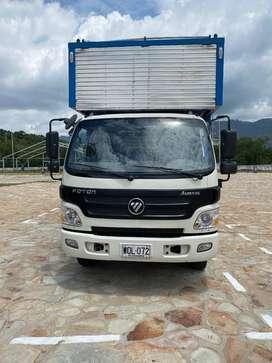 Camión Fotón modelo 2017, tipo Furgón