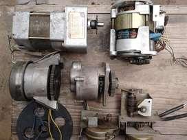 Motores con reducción, paso a paso, embragues, reductores, motores de corriente continua mecanismos varios y mas..
