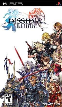 Juegos de PSP Final Fantasy Dissidia y Crisis Core