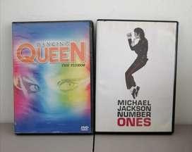 Dos espectaculares Cajas de Dos Grandes Artistas Michael Jackson y Queen