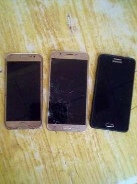 Vendo 4 celulares para repuesto a 10000