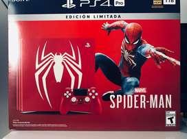 PS4 Play Station Pro Edicion Spiderman