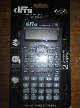 Calculadora cientifica nueva sin uso