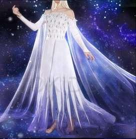 Disfraz Cosplay Elsa Frozen 2 Quinto Elemento Espiritu para dama