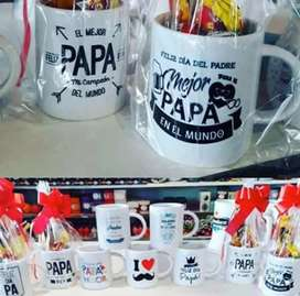 Vasos personalizados para el día del padre