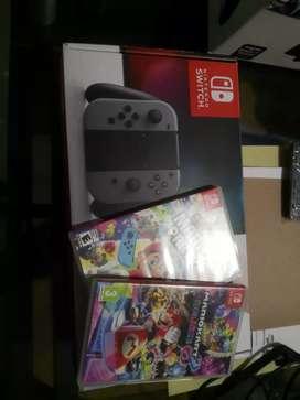 Nintendo Swich casi nueva