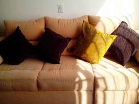 Sofa 3 puestos modular comodo