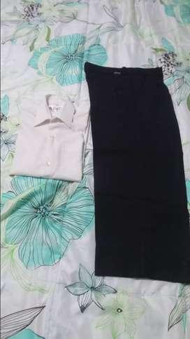 Pantalon y Camisa de Vestir