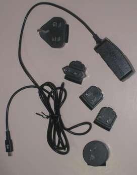 Cargador Universal BLACKBERRY Entrada Mini Usb 5 Enchufes