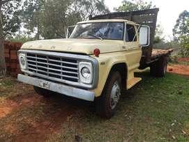 camion ford 6.000 Perkis grande diferencial y tren delantero de Mercedez Benz 1114