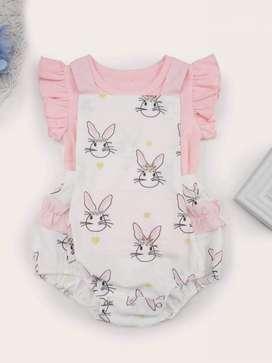 Ropa Bebé Conjunto Estampado De Conejo