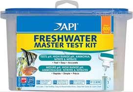 Test para de agua dulce API para acuario