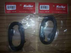 Cable Usb De Datos Usb A Mini Usb 1,8mts Kolke Original
