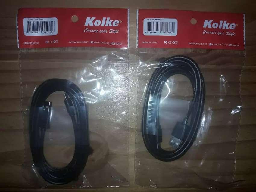 Cable Usb De Datos Usb A Mini Usb 1,8mts Kolke Original 0