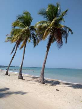 Venta de Lote frente al mar en primera linea de playa. Playa Blanca (San Antero - Córdoba)