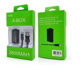 Kit Carga Y Juega Control Xbox One Pila Bateria Y Cable