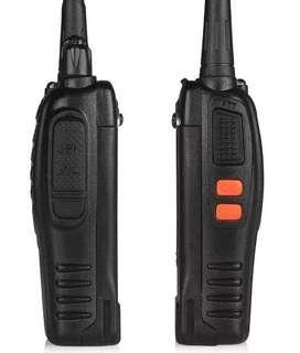 Radio Walkie Talkie Baofeng Bf-888s Uhf X1 Bateria 2800m Ah
