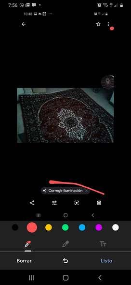 Hermoso  tapete  tipo persa