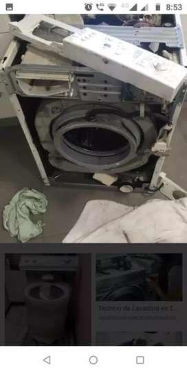 Mantenimiento y reparación de aire acondicionado y lavadoras